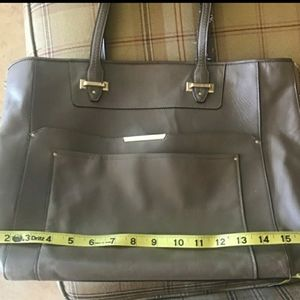 COACH Taupe Leather Tote